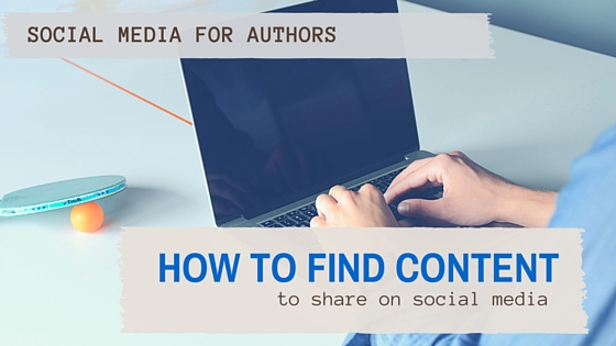 How to Find New Content for Social Media