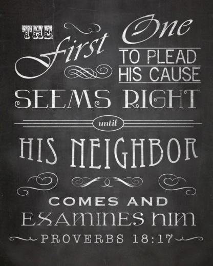 Proverbs 1817